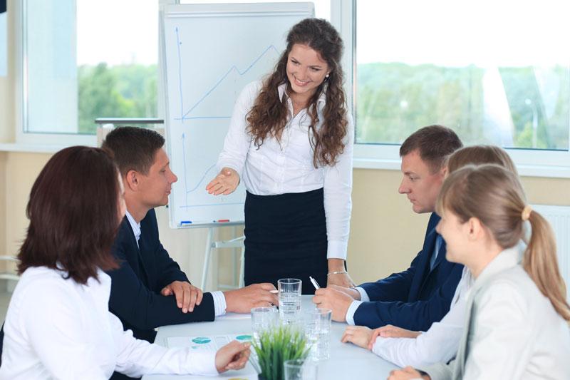 Coinvolgente nella presentazione del tuo prodotto/tuo servizio